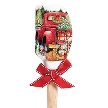 Brownlow Gifts 66138 Christmas Silicone Spatula, 12.5 Inches, Red Truck - $14.85