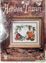 Harvest Time Cross Stitch Kit 5239 Heirloom Treasure Designs for the Nee... - $8.79