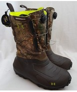 Under Armour UA Ridge Reaper 1200g Insulated Hunting Boots 1261932-946 S... - $128.69