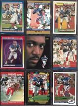 Buffalo Bills Thurman Thomas 1990-91 Topps Score NFL Pro Set Football Card Lot - $7.25