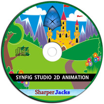 NEW & Fast Ship! Synfig Studio Professional 2D Animation Software For PC... - $11.67