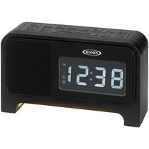 JENSEN JCR-350 Digital Dual Alarm Soothing-Sounds Clock Radio with Night... - €53,98 EUR