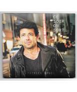 Patrick Bruel Ce Soir On Sort New Album on CD Just Released November 2018 - $22.95