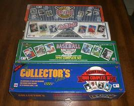 Lot of 4 Sets From Upper Deck. 1989 1990 1991 1992 Baseball Card Complet... - $319.00