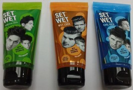 Set Wet  50 ML  Choose from Wet Look / Cool Hold / Vertical Hold  Hair Gel - $5.64