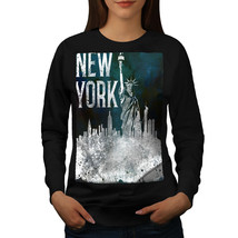 New York City Liberty USA Jumper American USA Women Sweatshirt - $18.99