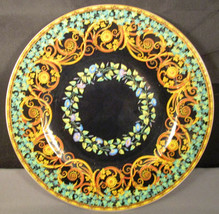 Versace Gold Ivy Plate Rosenthal Studio-Linie Germany Plate - $99.00