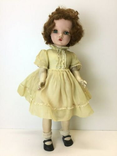 "Vintage Madame Alexander Winnie Walker ( Cissy face) 25"" Tall Green Eyes Doll"