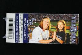 Colorado Rockies vs Pittsburgh Pirates MLB Ticket w Stub 07/16/2012 Year Fan - $8.17