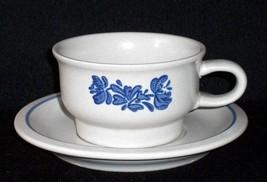 Pfaltzgraff  YORKTOWNE Stoneware Cups & Saucers Excellent USA Multi avai... - $4.99