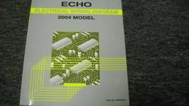2004 toyota echo electrical wiring diagram repair manual ewd etm oem - $9.87