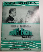 South Pacific Vocal Selection Book Rodgers And Hammerstein Musical - $8.79