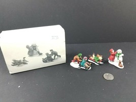Dept 56 Heritage Village Collection Snow Children Set of 3 #59382 BROKEN... - $12.41
