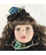 """Pocelain Doll 17"""" Tall  With Stand - $14.03"""