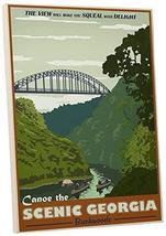 "Pingo World 0205Q5V0K3A ""Steve Thomas Scenic Georgia"" Gallery Wrapped Canvas Art - $57.37"