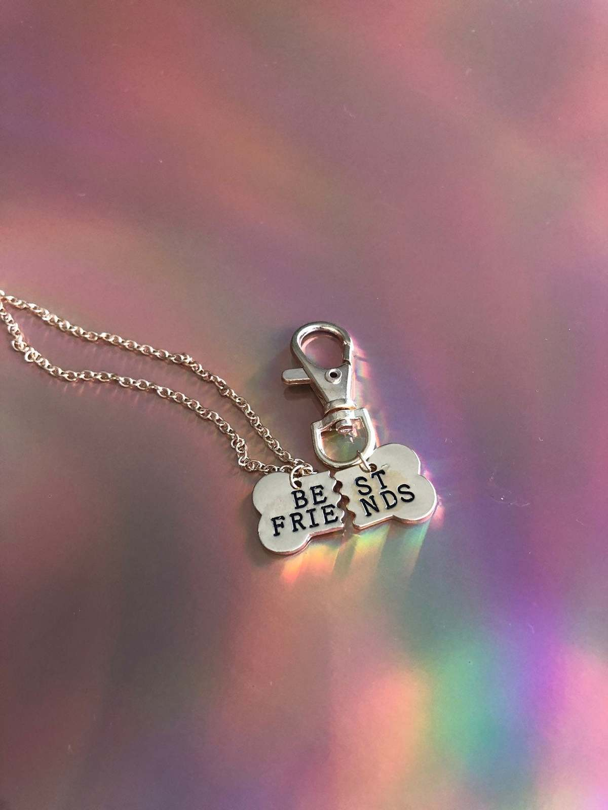 Best friends owner and pet collar charm / pet collar charm / collar accessories