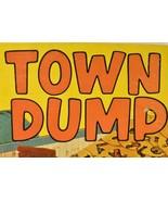 Town Dump Vintage Board Game Milton Bradley Motorized Action Bulldozer - $66.60