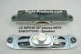 LG 42PC5D SPEAKERS EAB33775101 - $9.00