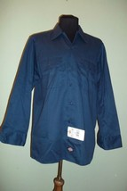 Dickies work shirt long sleeve Mens SZ LG (15-15.5 x 32/33)  NEW with tags - $17.60