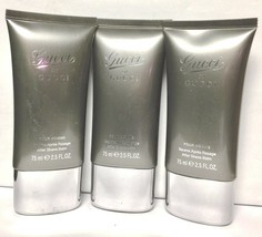 3 Pc LOT-Gucci By Gucci Pour Homme 2.5oz After Shave Balm (As Shown) - $55.33