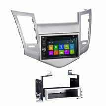 DVD GPS Navigation Multimedia Radio and Dash Kit for Chevy Chevrolet Cru... - $386.09
