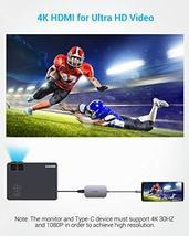 USB C Hub, Type C Hub EUASOO 8 in 1 Adapter with 4K HDMI, 3 USB 3.0 Ports, USB 2 image 7