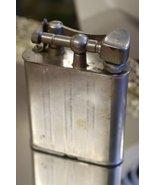VINTAGE RELIANCE LIFT ARM CIGARETTE CIGAR LIGHTER BIG SILVER CASE OCCUPI... - $84.99+