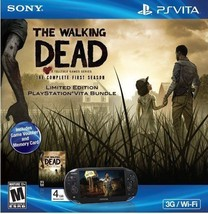 Sony PlayStation PS VITA Walking Dead Bundle 3G + Wi-Fi Handheld Game Sy... - $319.99