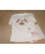 Yazbek White Heavy Weight T-Shirt XL Proud to be an American - $5.99