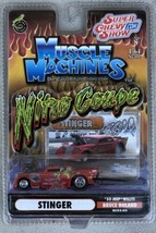 Muscle Machines Stinger 33 1933 Jeep Willys Nitro Coupe Bruce Boland Car Red - $10.95