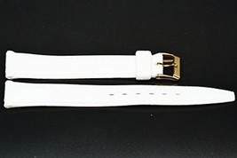 14MM WHITE RUBBER SPORT WATCH BAND STRAP - $8.42