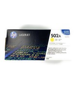 Genuine HP Laserjet 502A Empty Yellow Toner Cartridge - $8.15