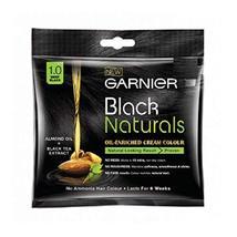 Garnier Black Naturals Oil Enriched Cream Hair Colour - No ammonia - $7.99