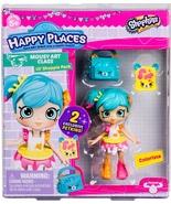 Shopkins Happy Places Colorissa & 2 exclusive Petkins Lil' Shoppie Pack S3 - $9.95