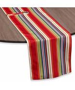 """NEW INDOOR/OUTDOOR 72""""REVERSIBLE UMBRELLA TABLE RUNNER STRIPE - $19.99"""