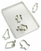 Martha Stewart Collection 7pc Cookie Sheet & Cutter Set with recipes
