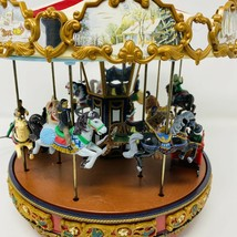 Mr Christmas Carousel 2010 Animated Musical Plays 50 Songs **SEE VIDEO** - $186.99