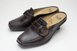 Sofft 7 Brown Mules - $42.00