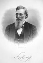 D.W. CROSS Cleveland Ohio Capitalist & Lawyer - SUPERB Portrait 1883 Print - $13.86