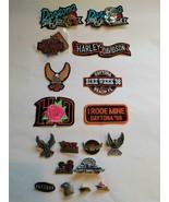 Harley Davidson Motorcycle Lot of Daytona Patches & Pins 1998-2000 NICE!... - $44.55