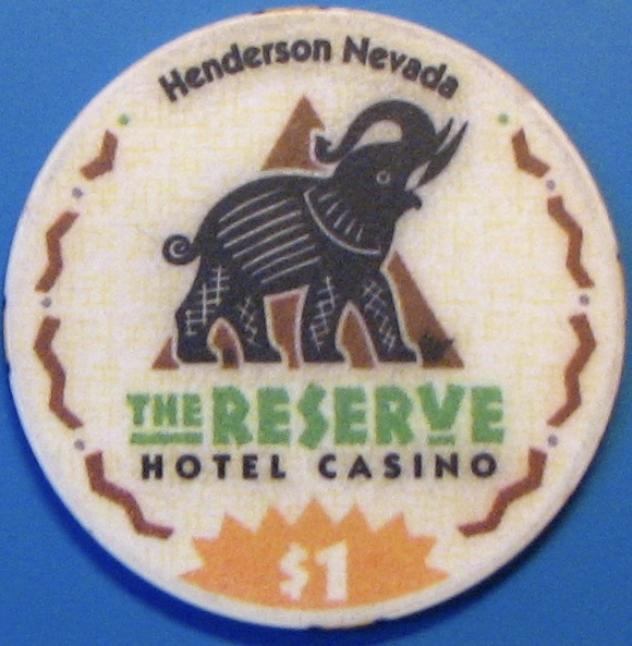 $1 Casino Chip, Reserve, Henderson, NV. N34. - $3.99