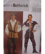 Pattern 4574 sz Sm,Med,Lg Robin Hood, Medieval, Renaissance, Renn Faire,... - $9.99