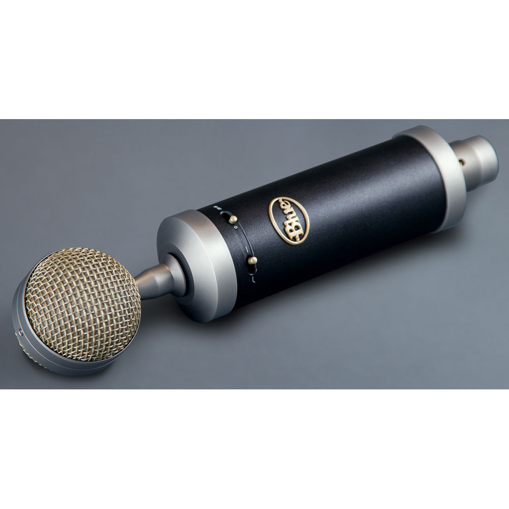 blue baby bottle sl studio condenser microphone with shock mount and case microphones. Black Bedroom Furniture Sets. Home Design Ideas