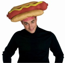 Unisex Adult Funny Deluxe Hot Dog Sausage Wiener Hat NEW U GOT 2 FUNNY &... - €15,98 EUR