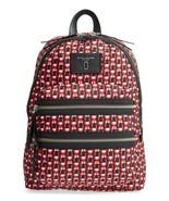 NWT Marc Jacobs Red Logo Scream Biker Backpack Bag Large New  $250 - $175.00