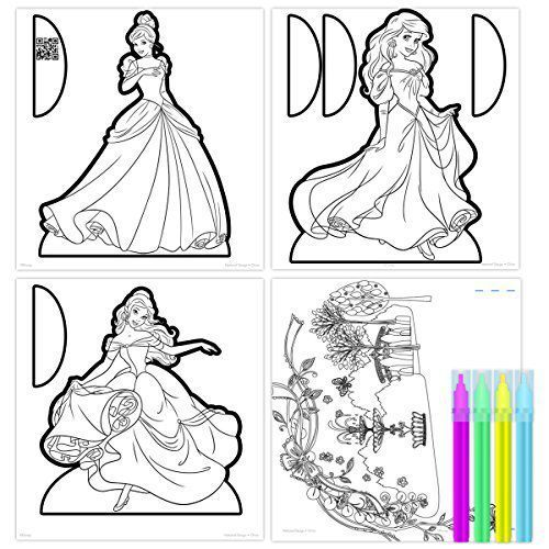 Disney Princess Color to Life 3D Model Set