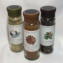 Lot of 3 The Gourmet Collection - Spice Blends Sizes 6.7 oz, 7.5oz, & 4oz - $39.59