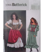 Pattern 3904 sz 12-16 Wench, Pirate, Medieval, Renaissance, Renn Faire, ... - $8.99