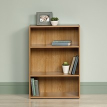 Sauder Beginnings 3-Shelf Bookcase, Highland Oak - $43.89