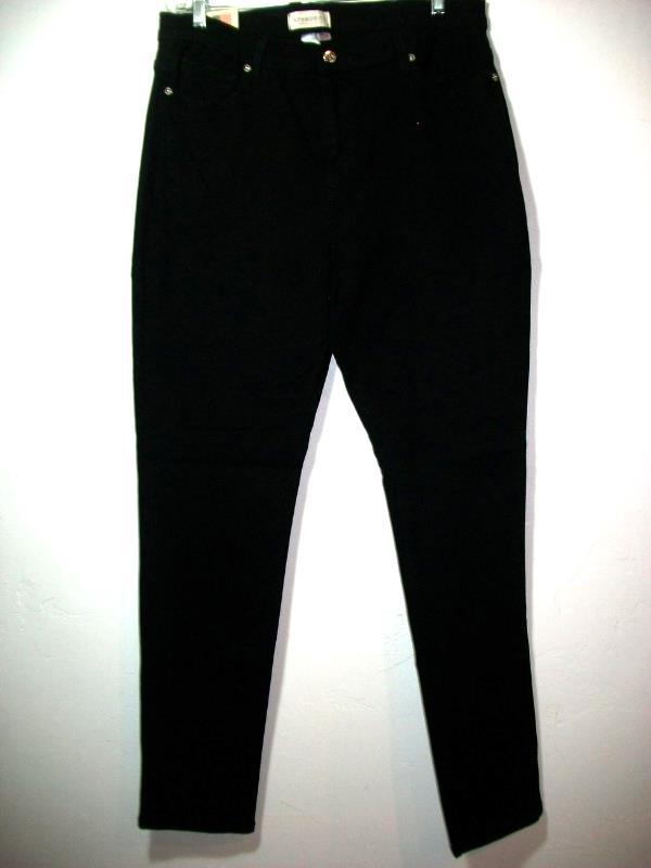 Primary image for WOMEN APHRODITE SIZE 3XL BLACK STRETCH JEANS PLUS NWT